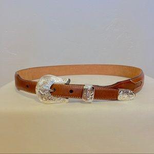 Vintage Justin western cowgirl belt unworn size 30
